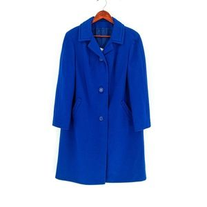 vintage | Juli de Roma Royal Blue Long Sleeve Coat